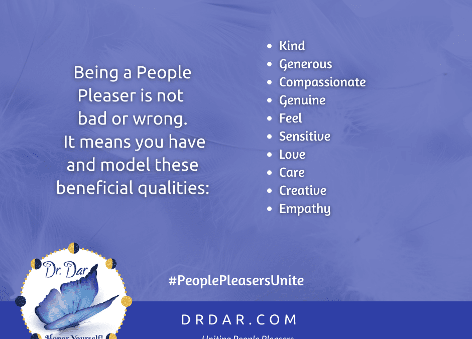Ep. 23 The 9 Ways You've Been Trained to Be a People Pleaser – Insideous