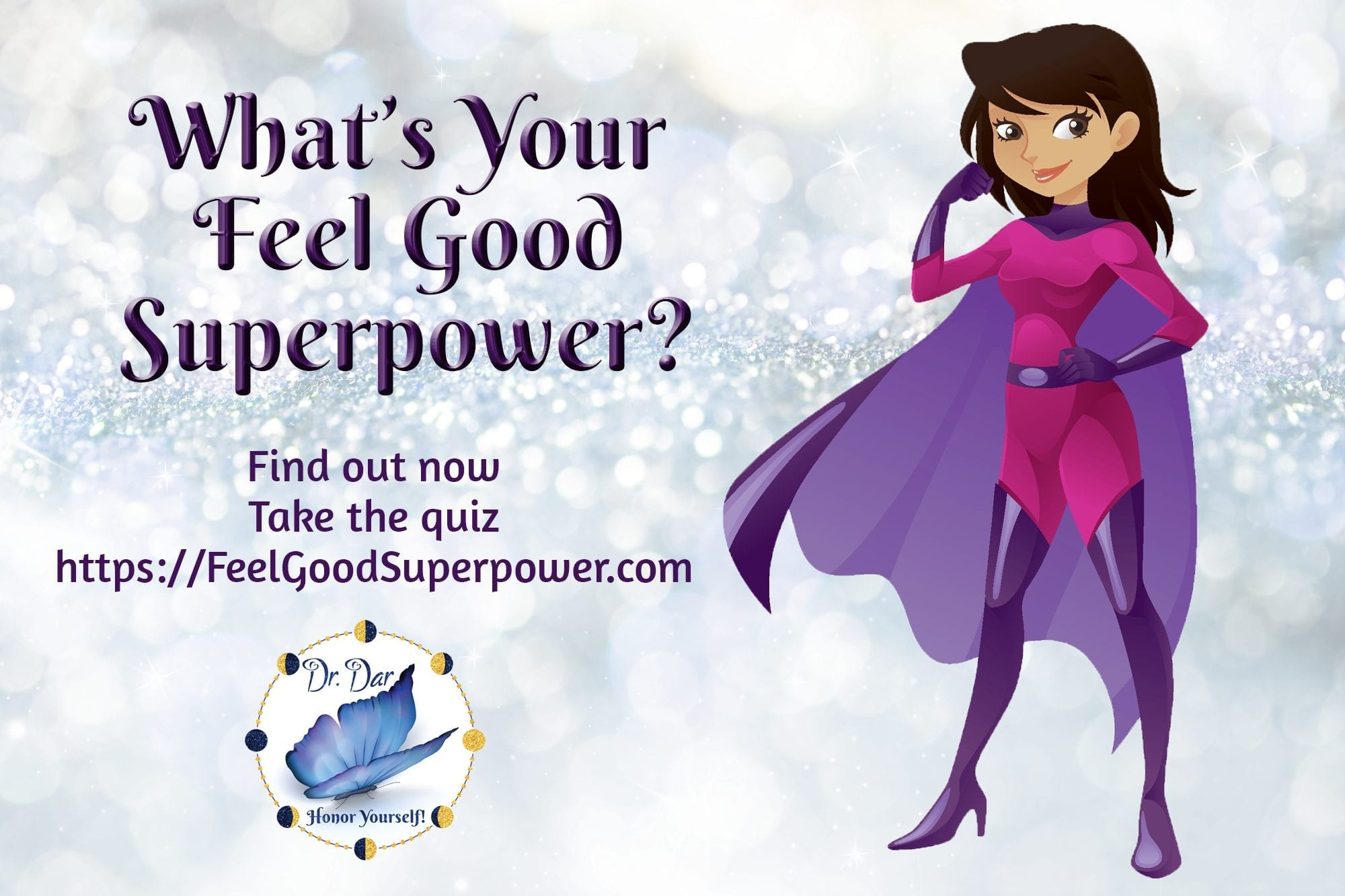The #1 Feel Good Superpower Quiz