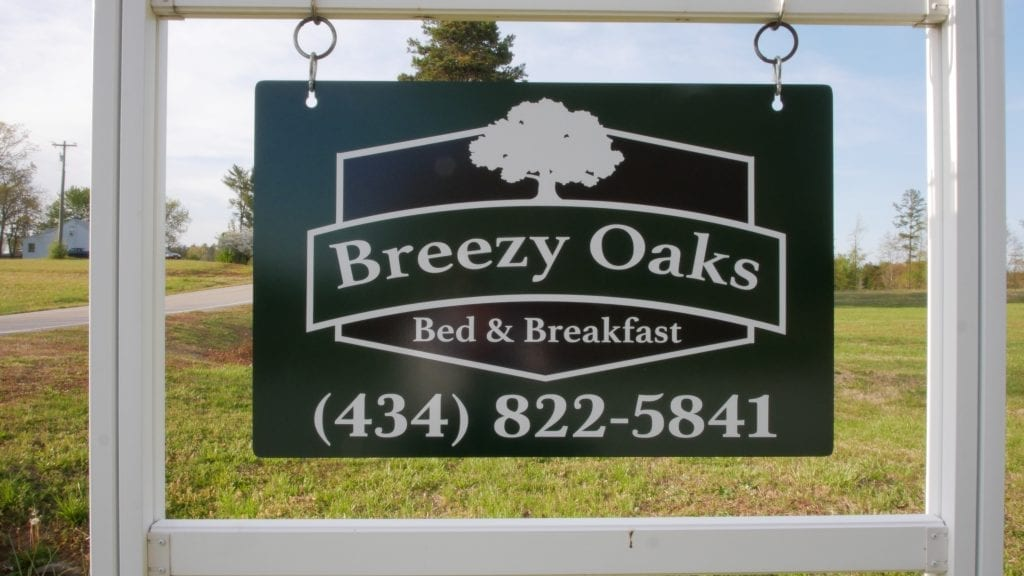 Breezy Oaks Sign